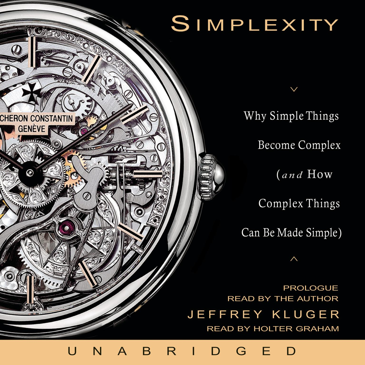 Printable Simplexity: Why Simple Things Become Complex (and How Complex Things Can Be Made Simple) Audiobook Cover Art