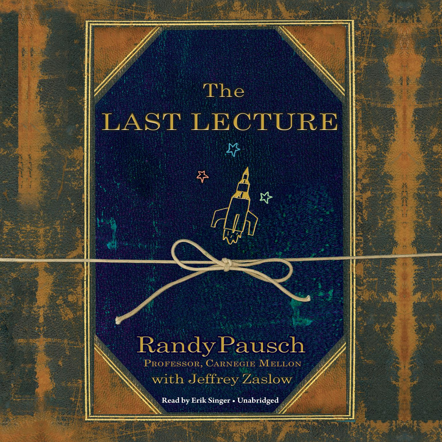 Printable The Last Lecture Audiobook Cover Art