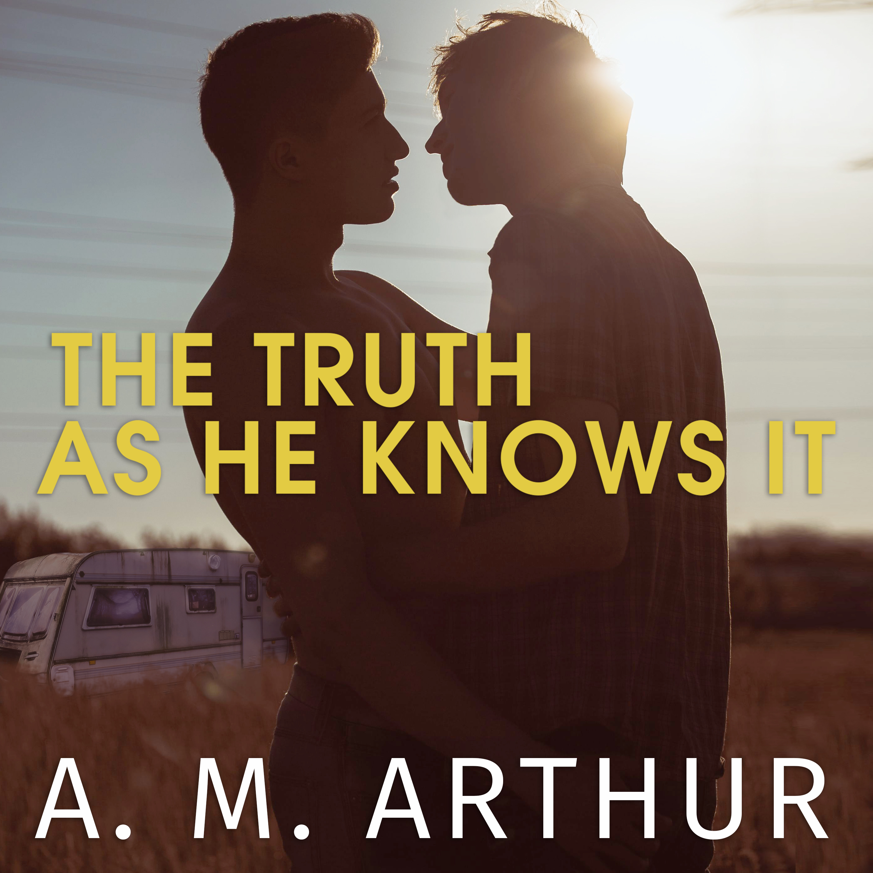 Printable The Truth As He Knows It Audiobook Cover Art