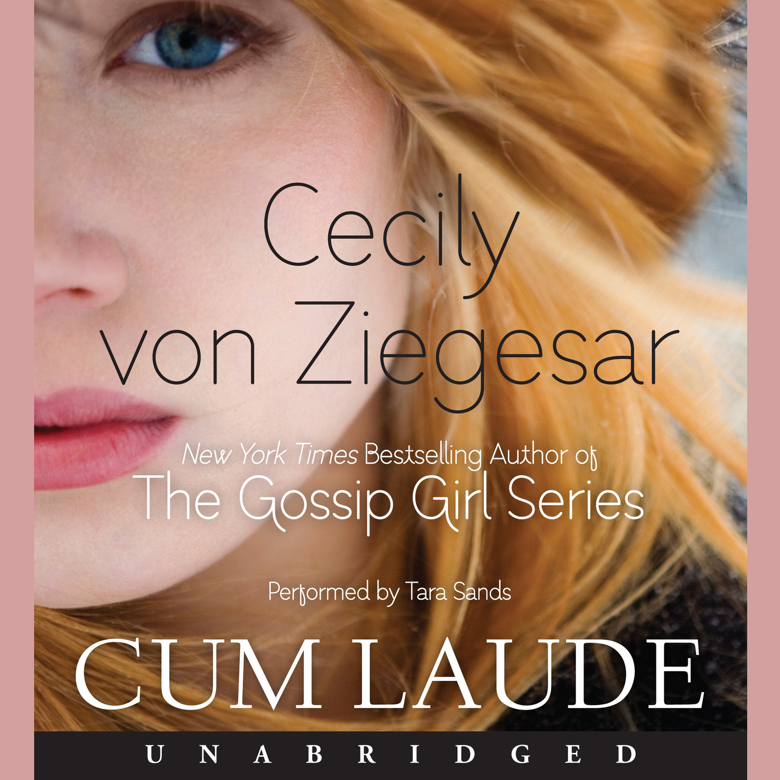 Printable Cum Laude Audiobook Cover Art