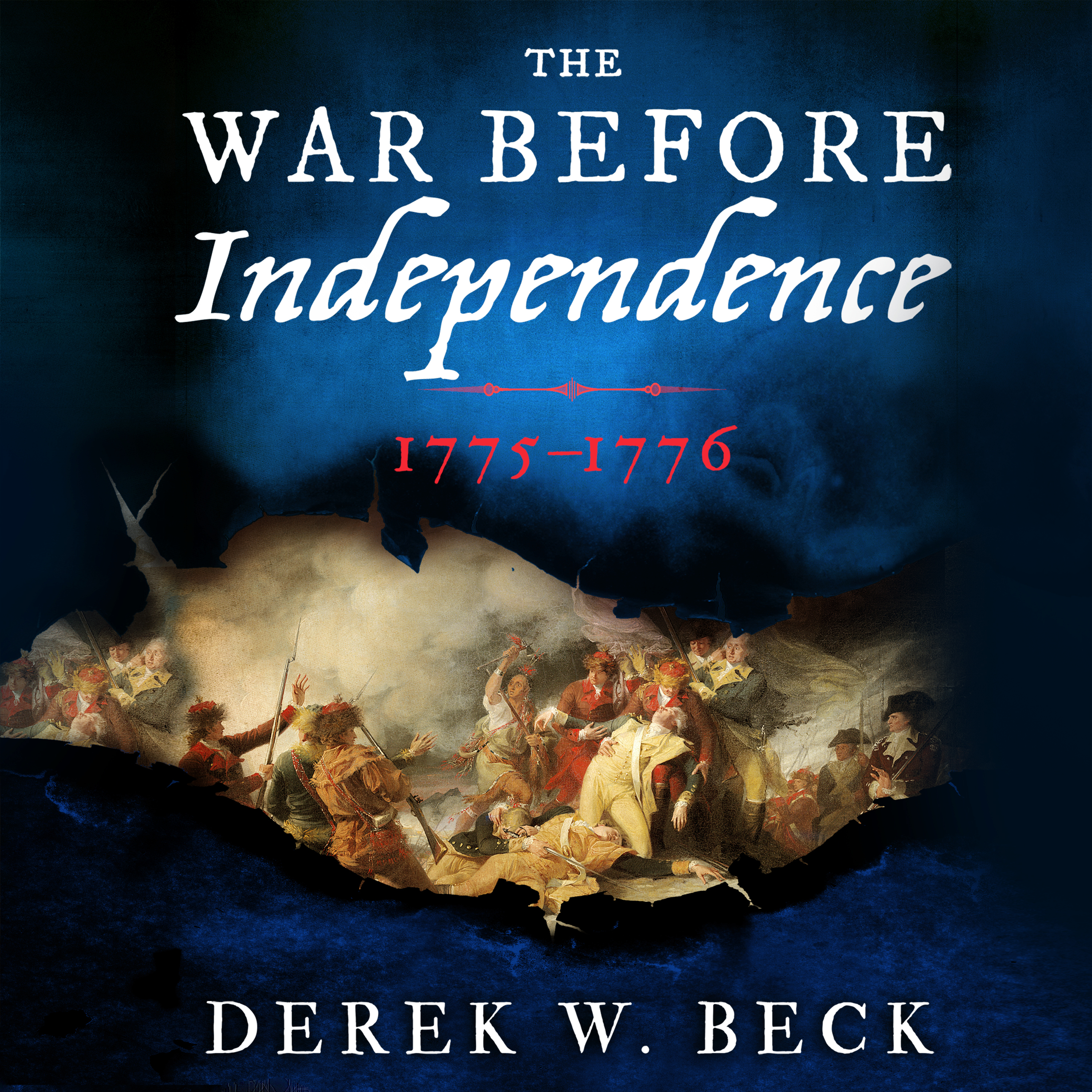 Printable The War Before Independence: 1775-1776 Audiobook Cover Art