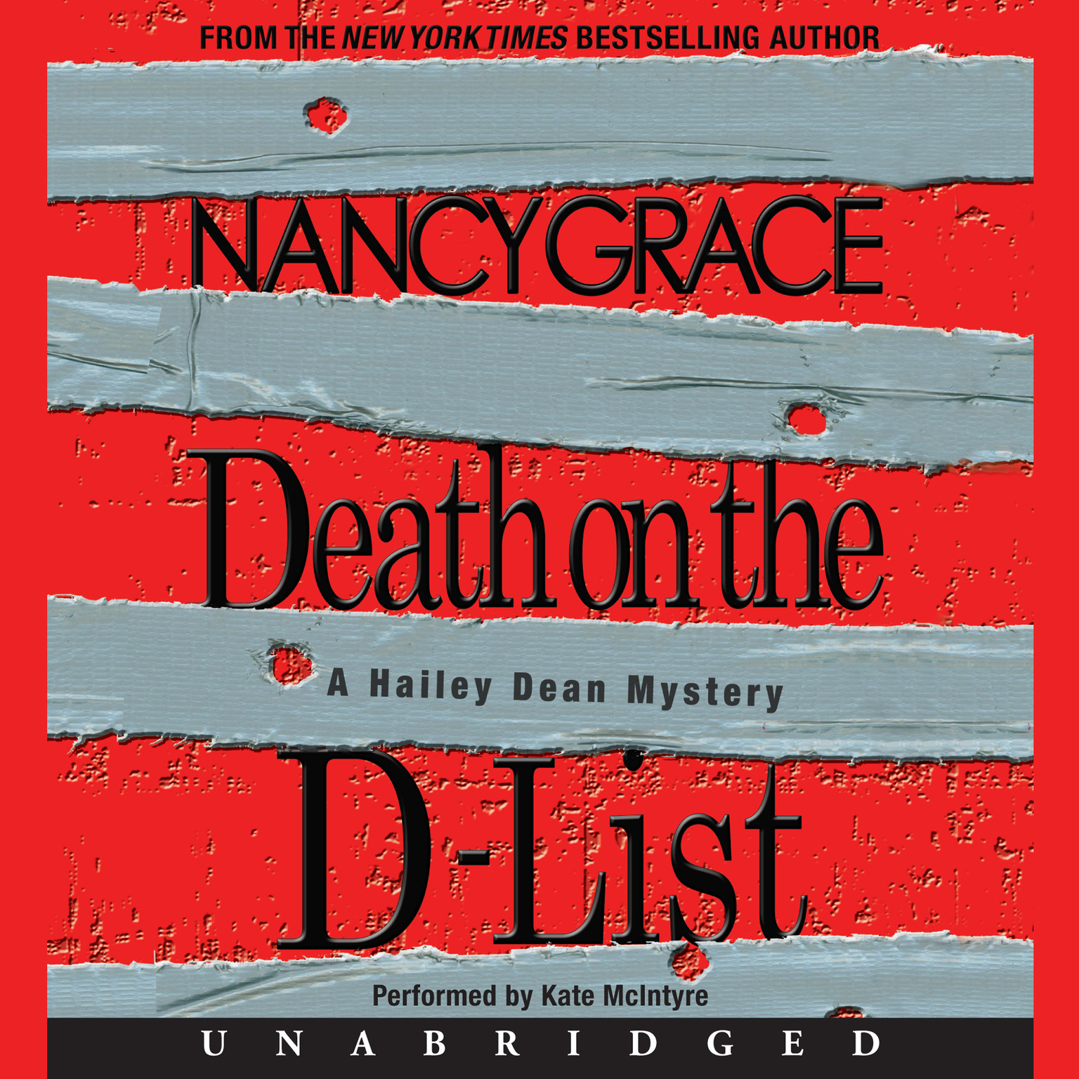 Printable Death on the D-List Audiobook Cover Art
