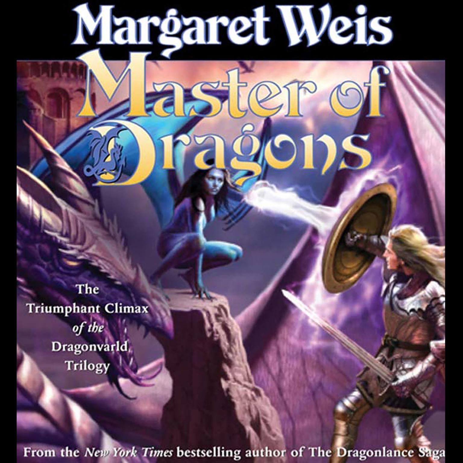 Printable Master of Dragons: The Triumphant Climax of the Dragonvarld Trilogy Audiobook Cover Art