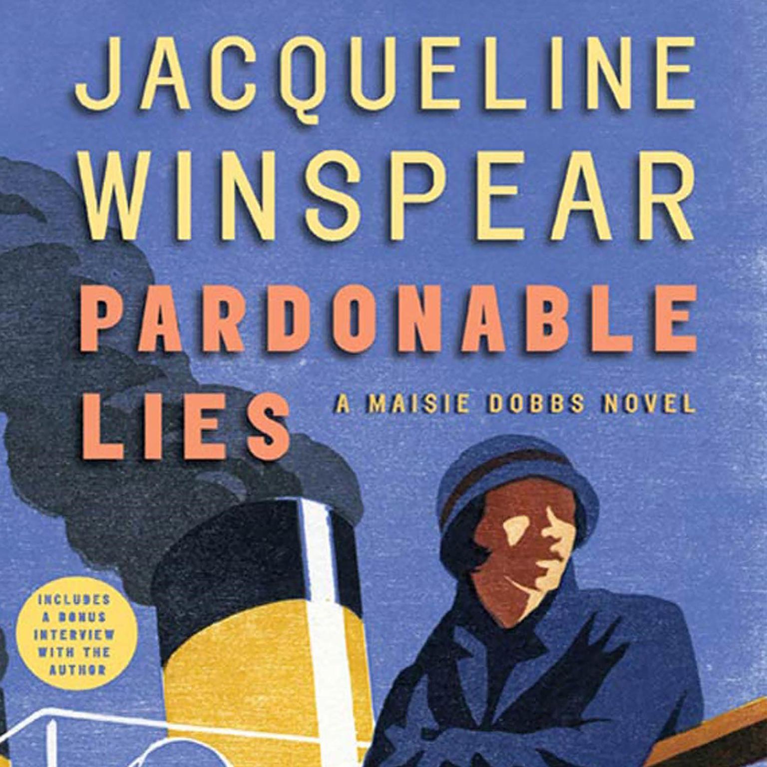 Printable Pardonable Lies: A Maisie Dobbs Novel Audiobook Cover Art