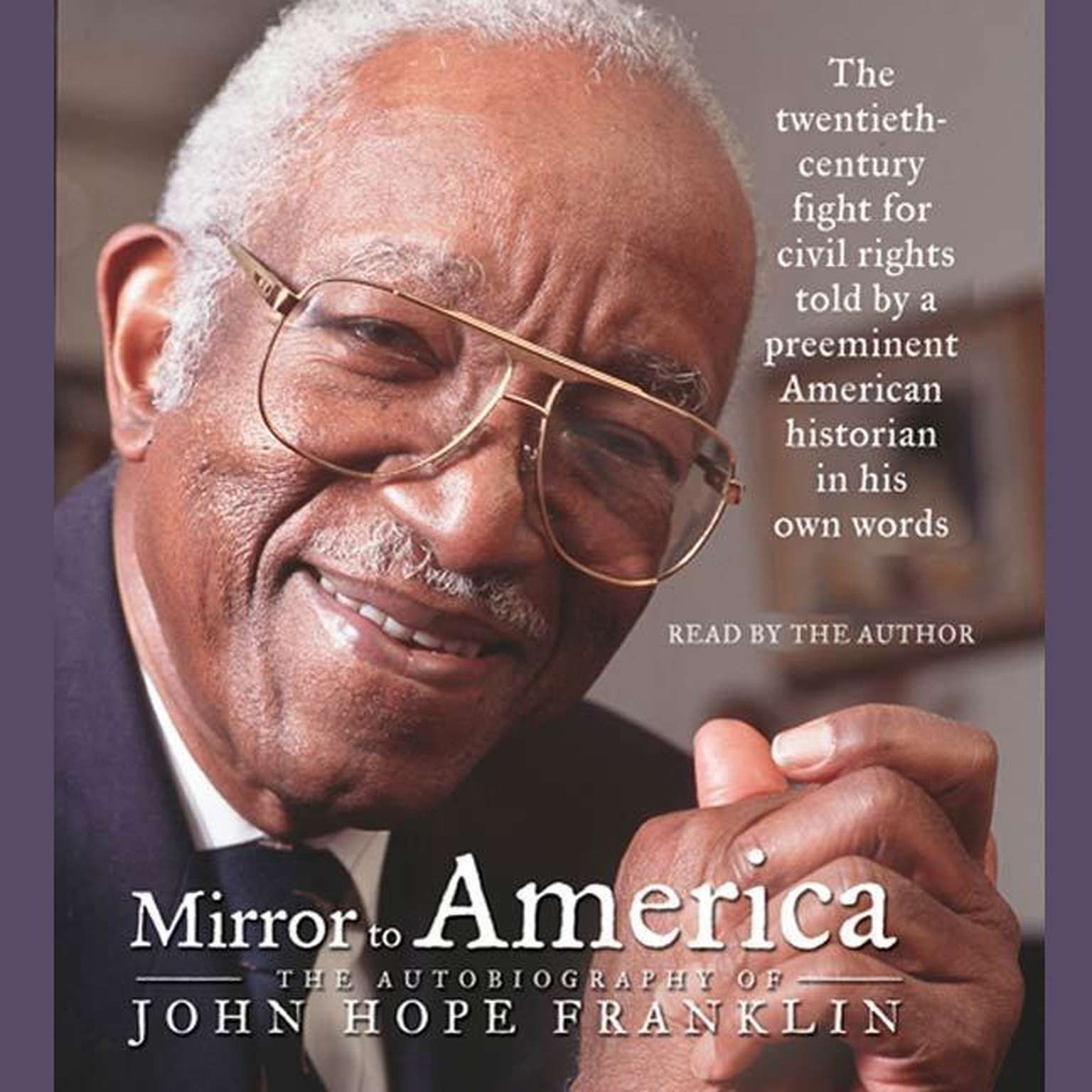 Printable Mirror to America: The Autobiography of John Hope Franklin Audiobook Cover Art
