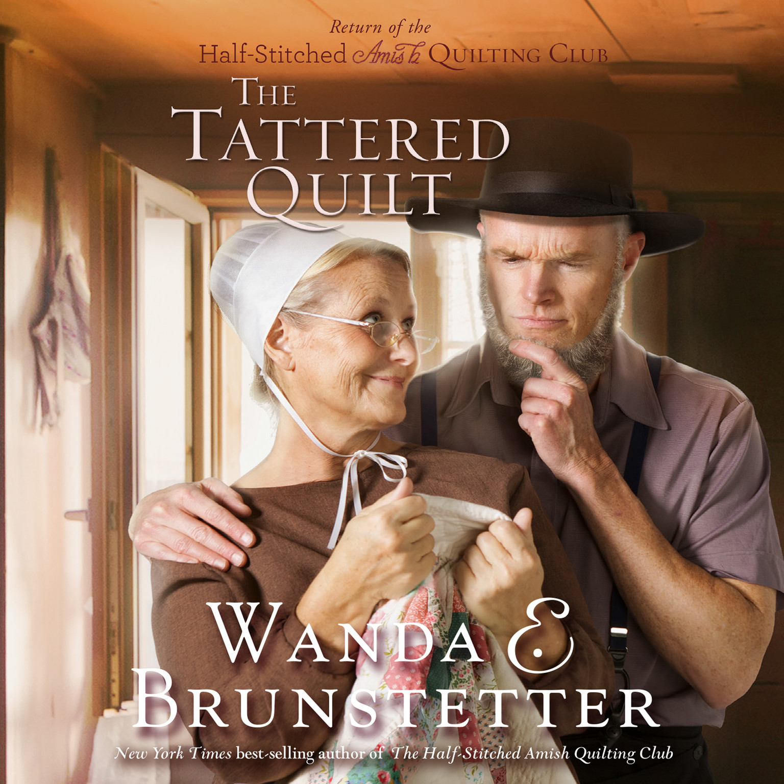 Printable The Tattered Quilt Audiobook Cover Art