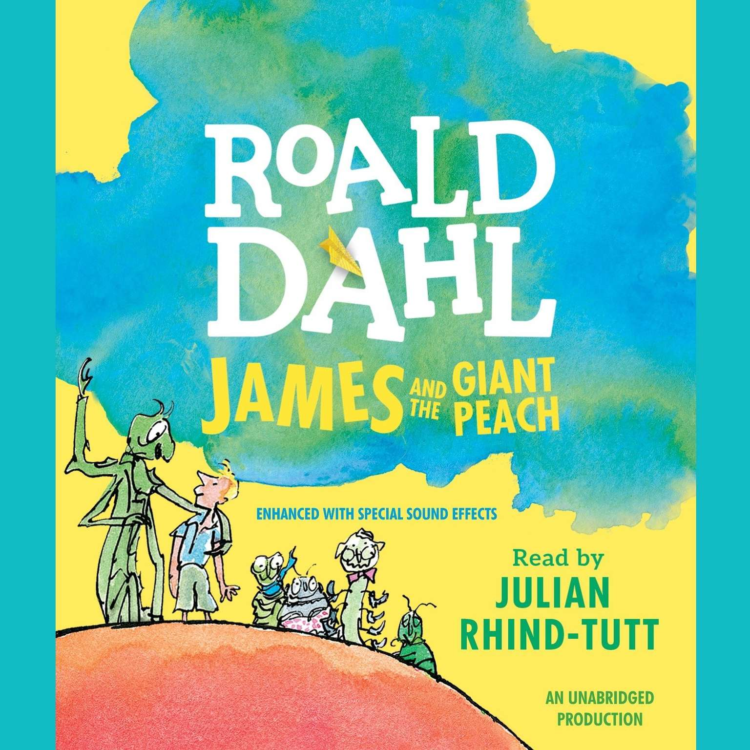 Printable James and the Giant Peach Audiobook Cover Art