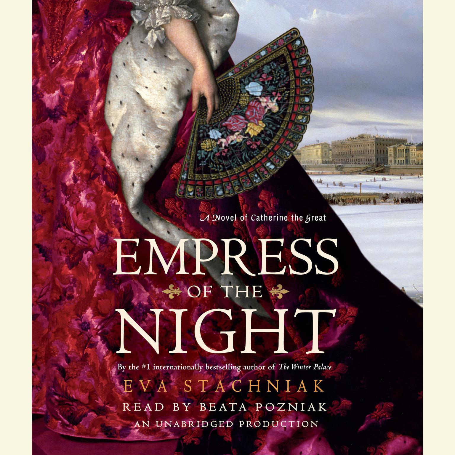 Printable Empress of the Night: A Novel of Catherine the Great Audiobook Cover Art