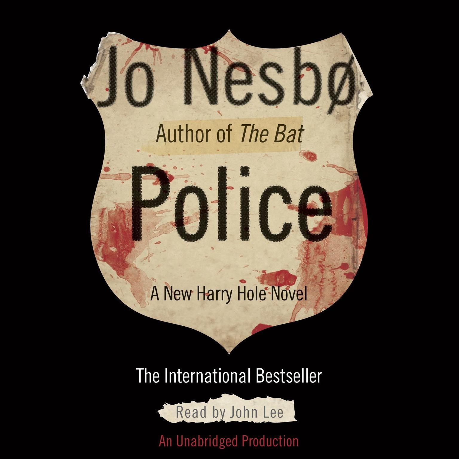 Printable Police: A Harry Hole Novel Audiobook Cover Art