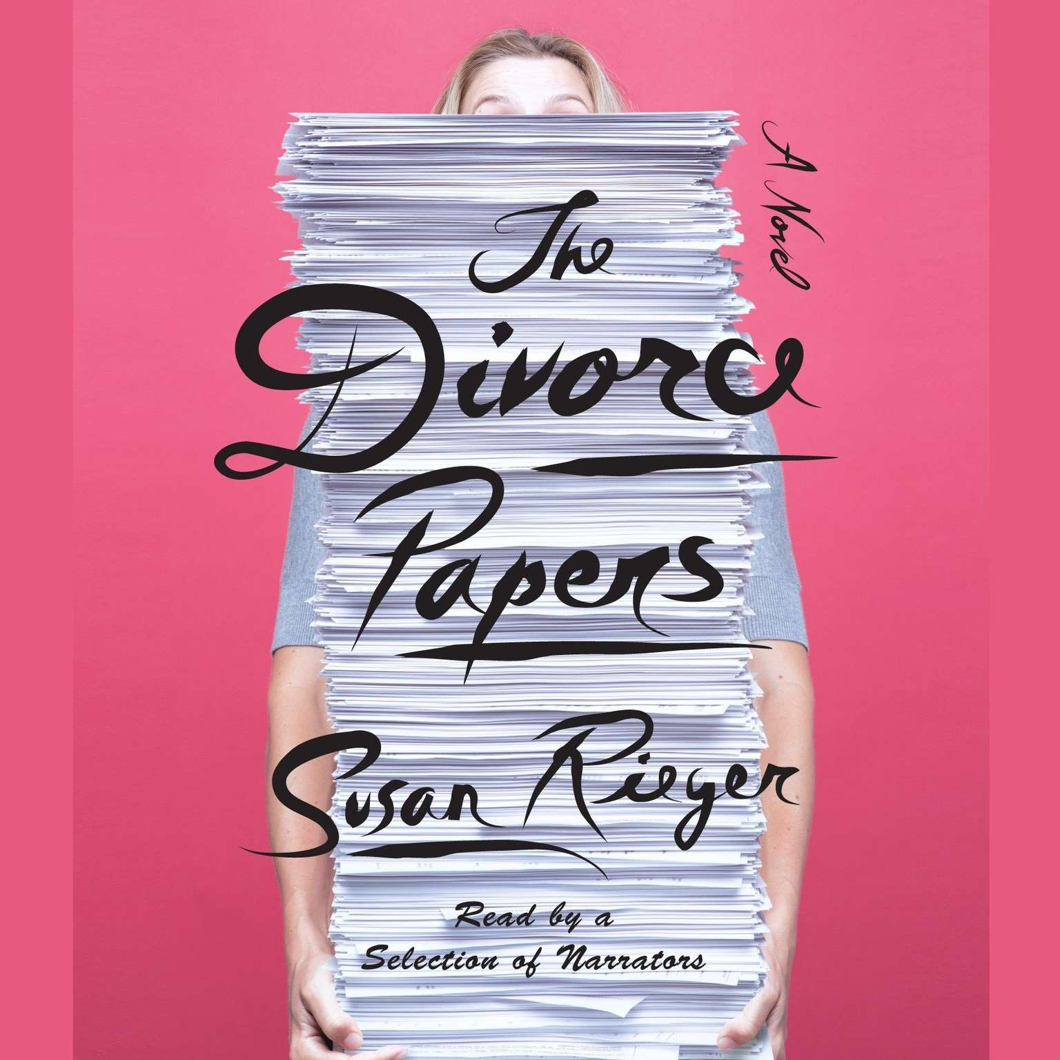 Printable The Divorce Papers: A Novel Audiobook Cover Art