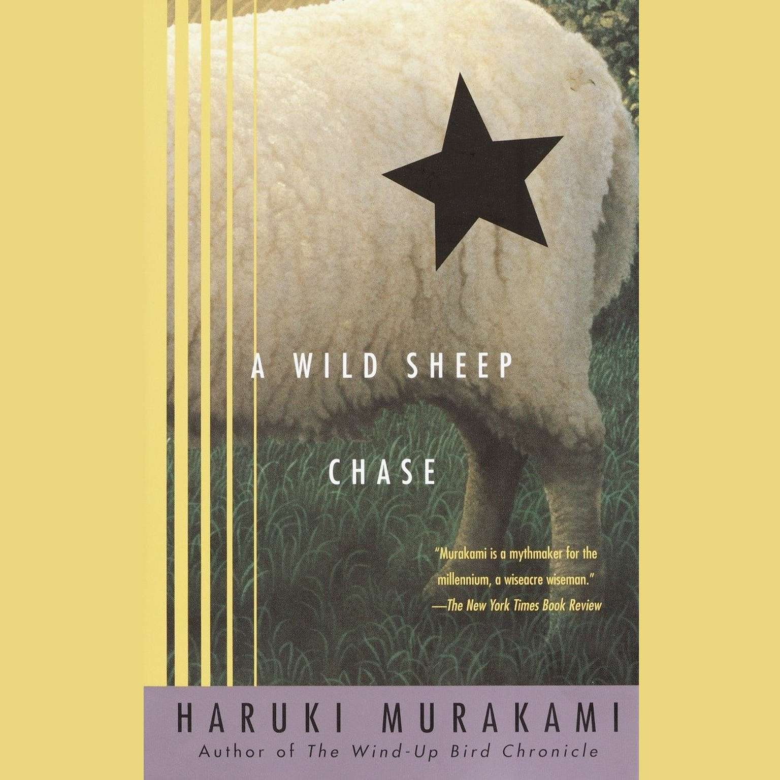 Printable A Wild Sheep Chase: A Novel Audiobook Cover Art