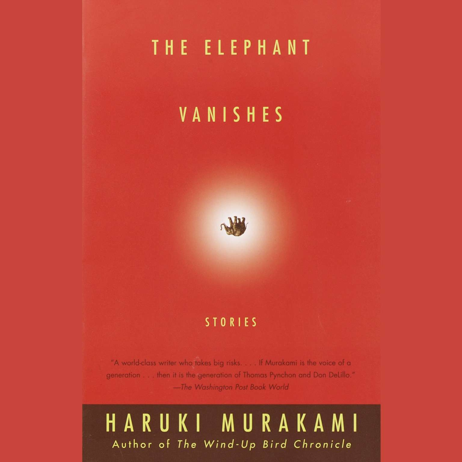 Printable The Elephant Vanishes Audiobook Cover Art