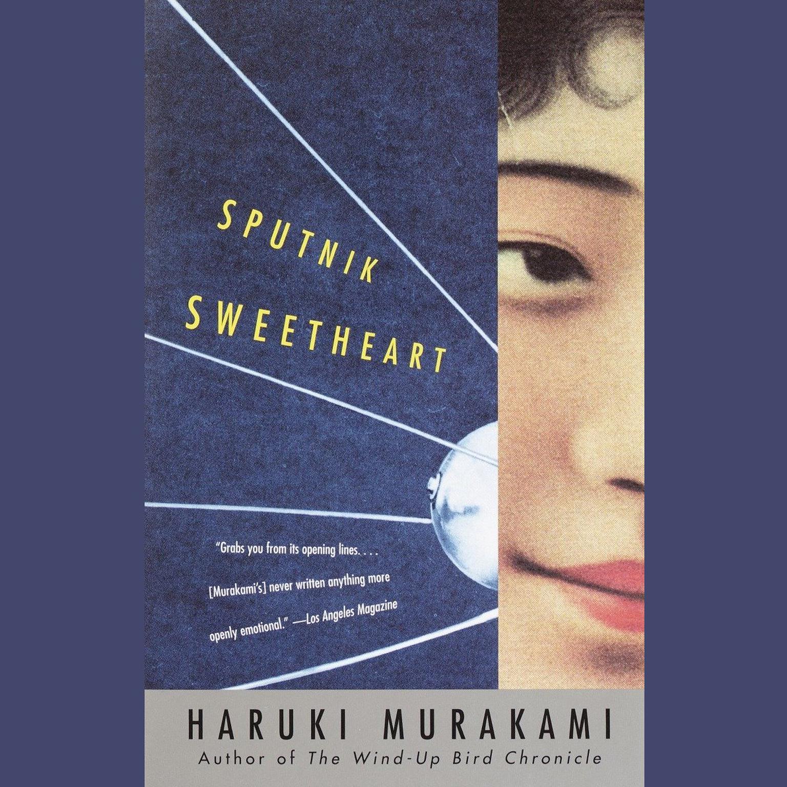 Printable Sputnik Sweetheart Audiobook Cover Art