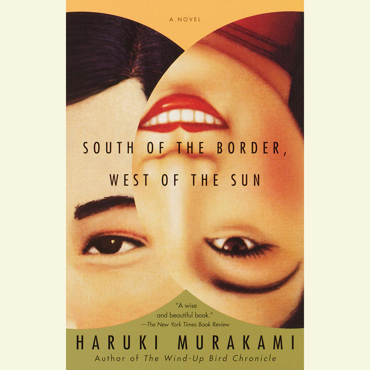 Printable South of the Border, West of the Sun: A Novel Audiobook Cover Art
