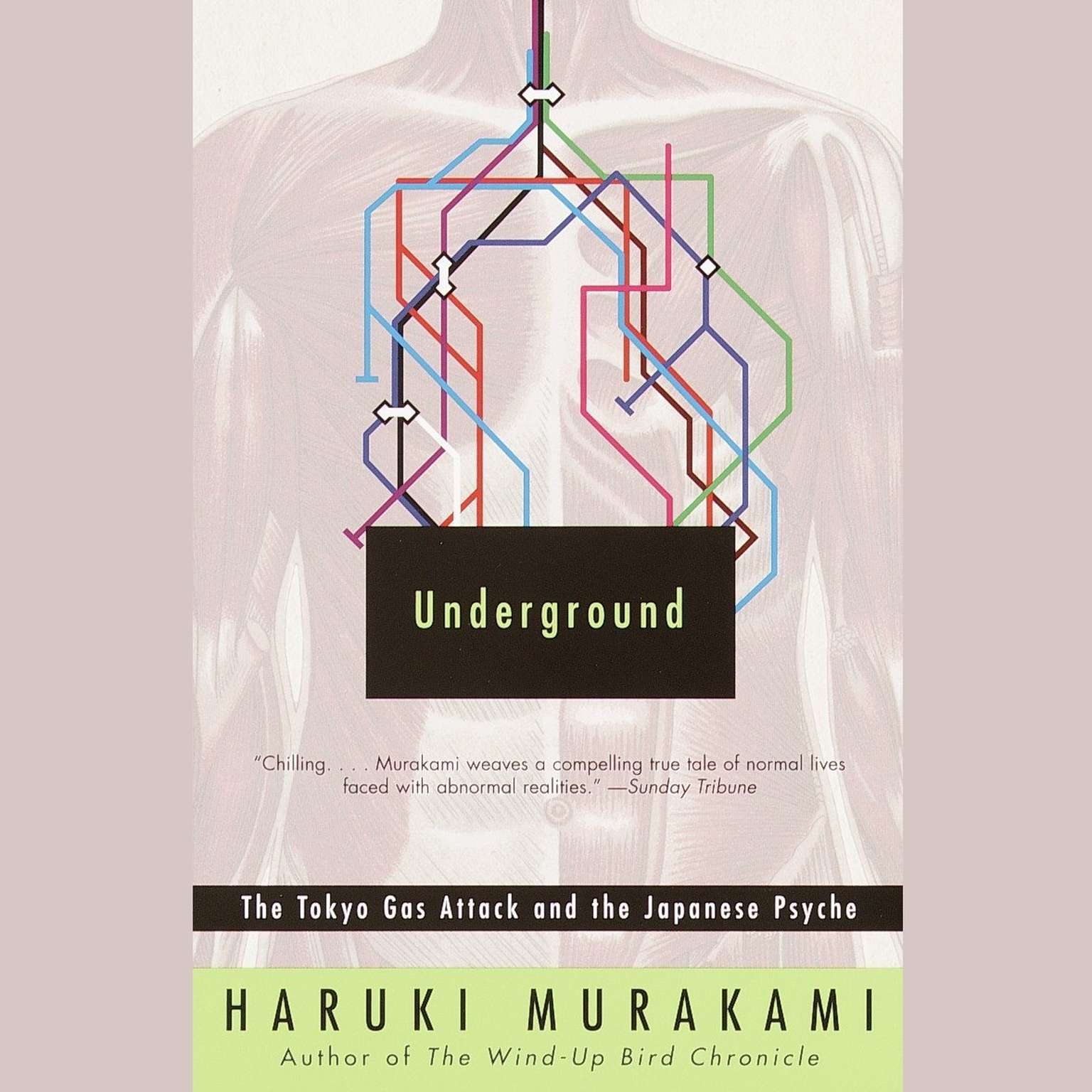 Printable Underground: The Tokyo Gas Attack and the Japanese Psyche Audiobook Cover Art