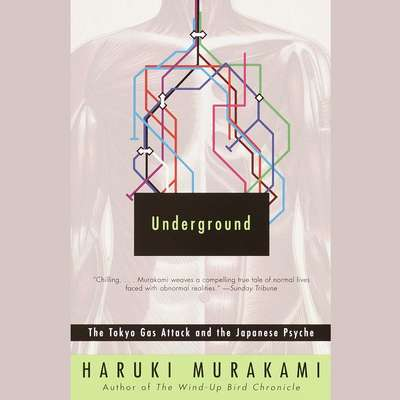 Underground: The Tokyo Gas Attack and the Japanese Psyche Audiobook, by Haruki Murakami
