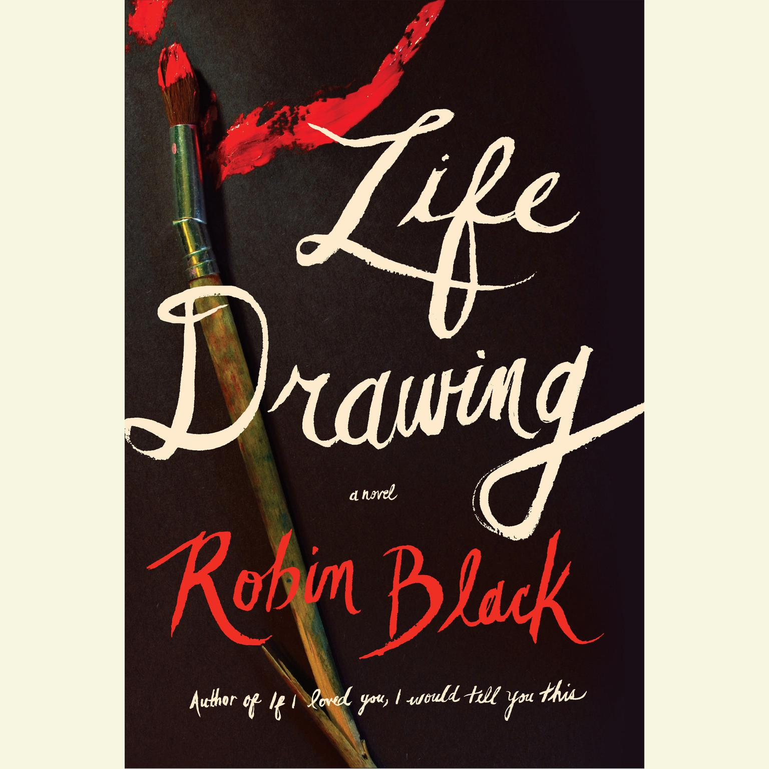 Printable Life Drawing: A Novel Audiobook Cover Art