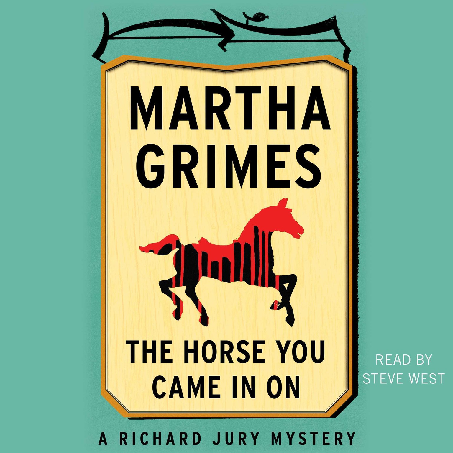 Printable The Horse You Came in On Audiobook Cover Art
