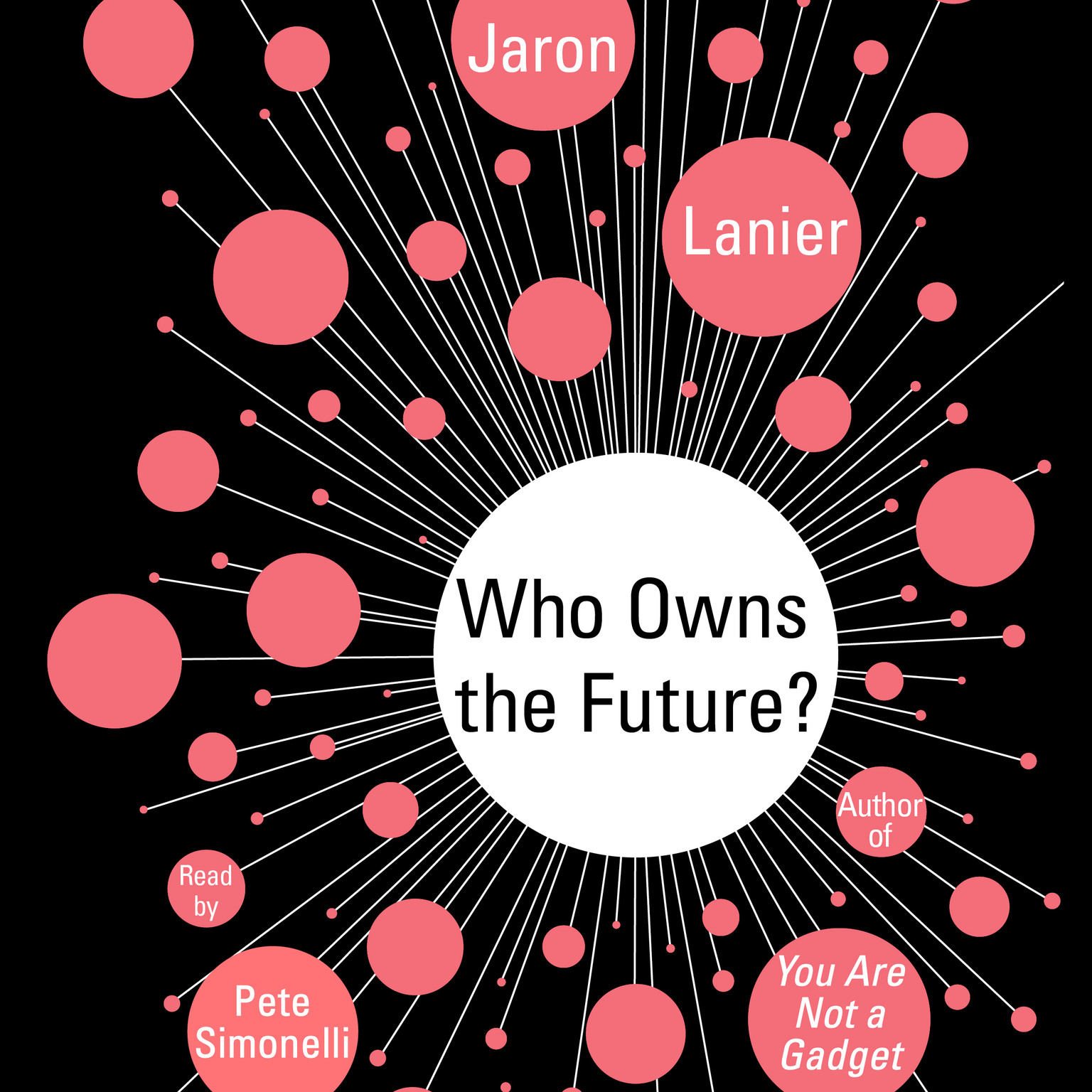 Printable Who Owns the Future? Audiobook Cover Art
