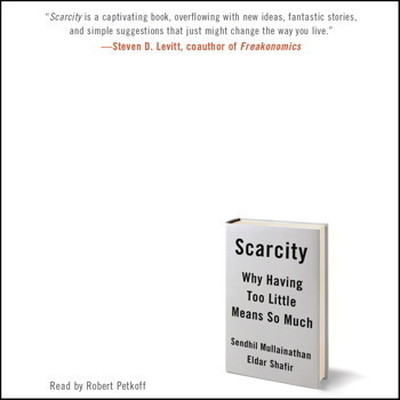 Printable Scarcity: Why Having Too Little Means So Much Audiobook Cover Art
