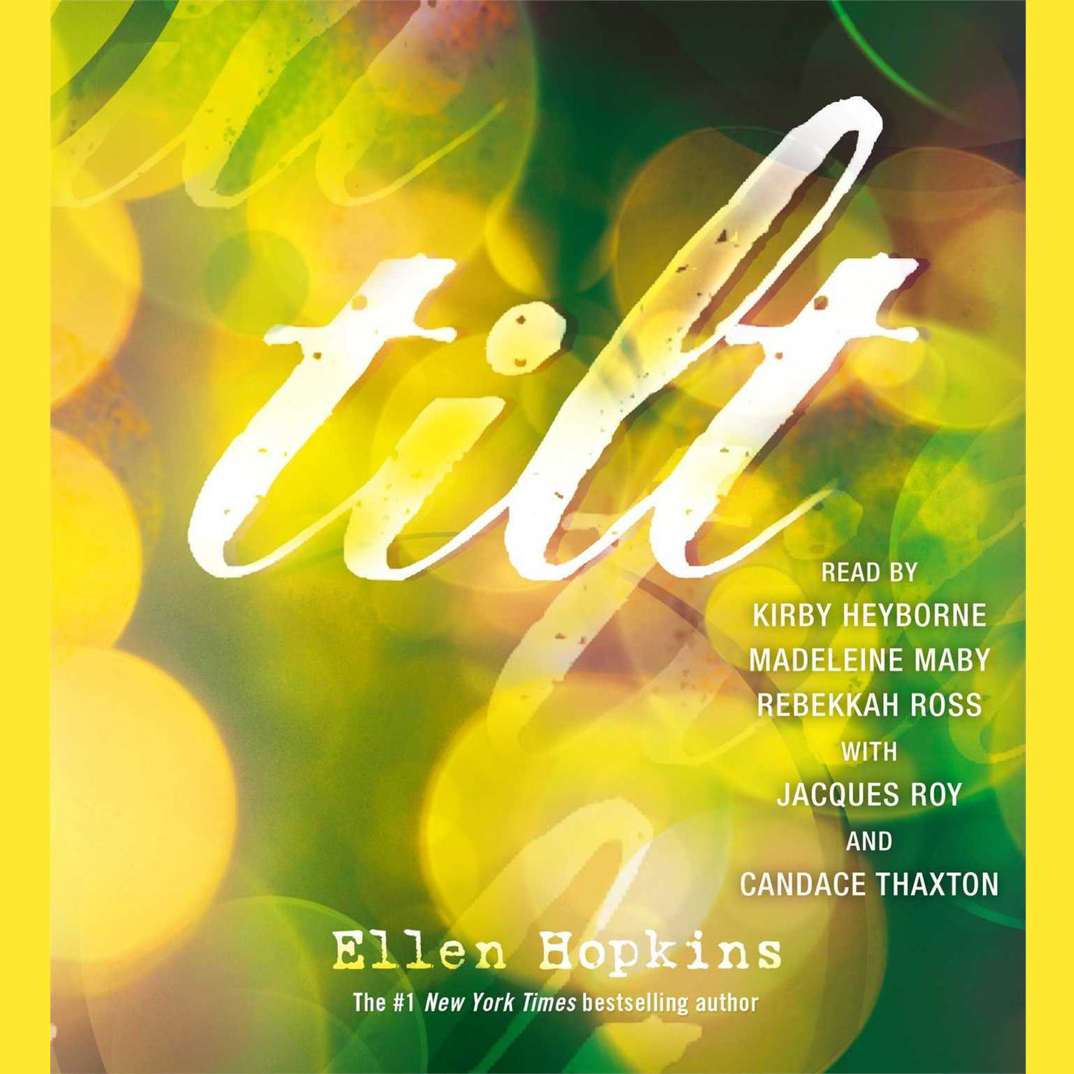 Printable Tilt Audiobook Cover Art