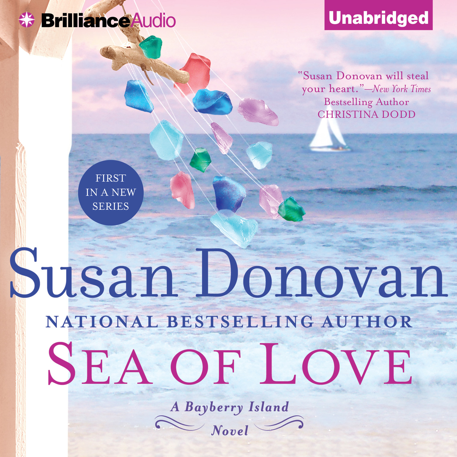 Printable Sea of Love Audiobook Cover Art