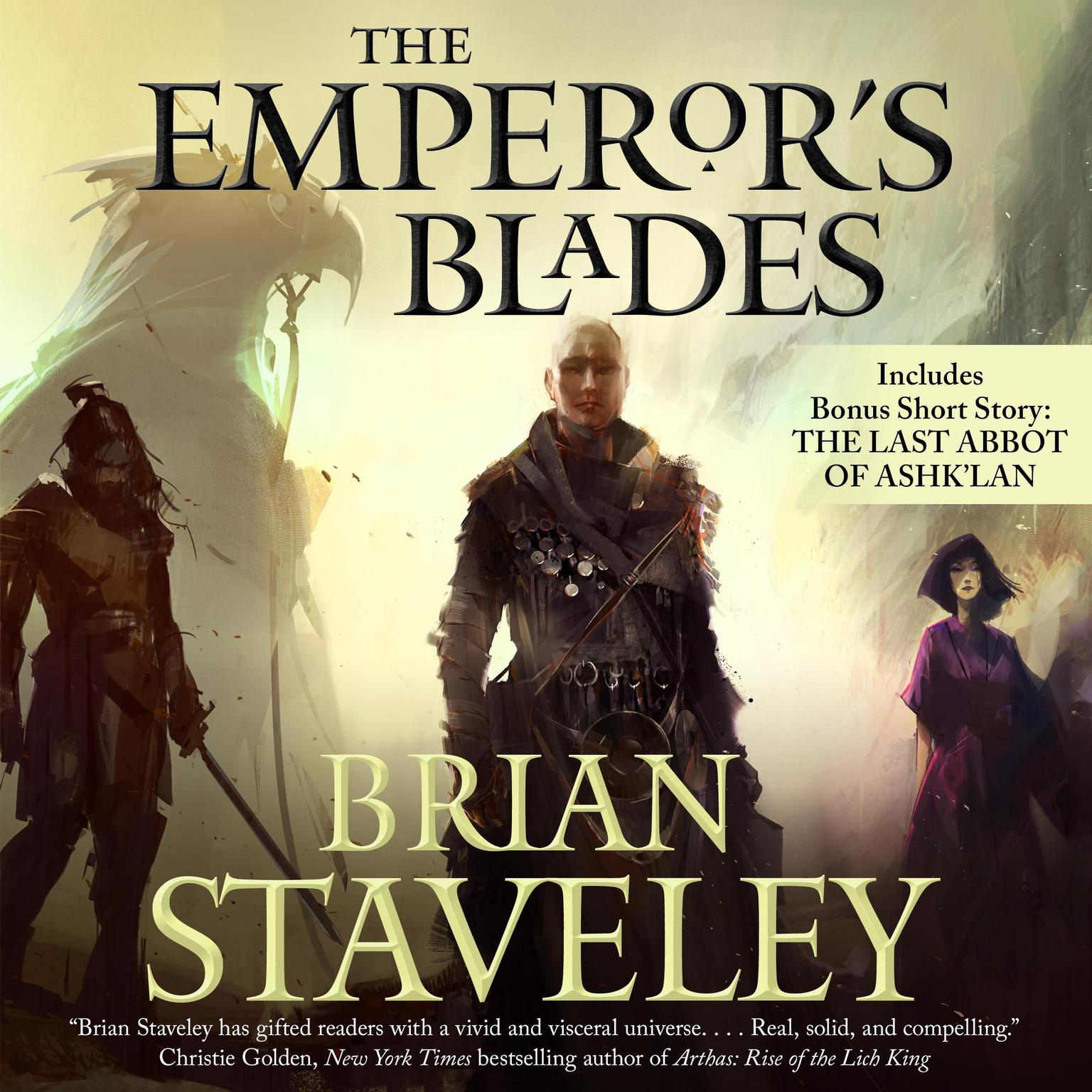 Printable The Emperor's Blades Audiobook Cover Art