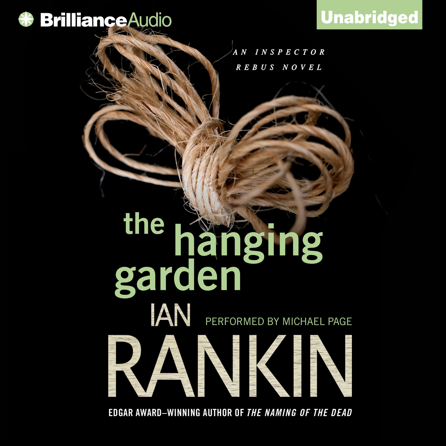 Printable The Hanging Garden Audiobook Cover Art
