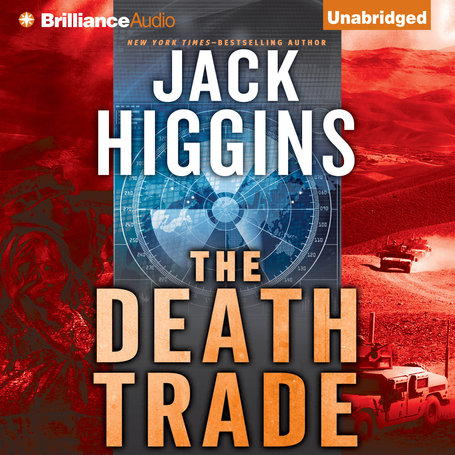 Printable The Death Trade Audiobook Cover Art