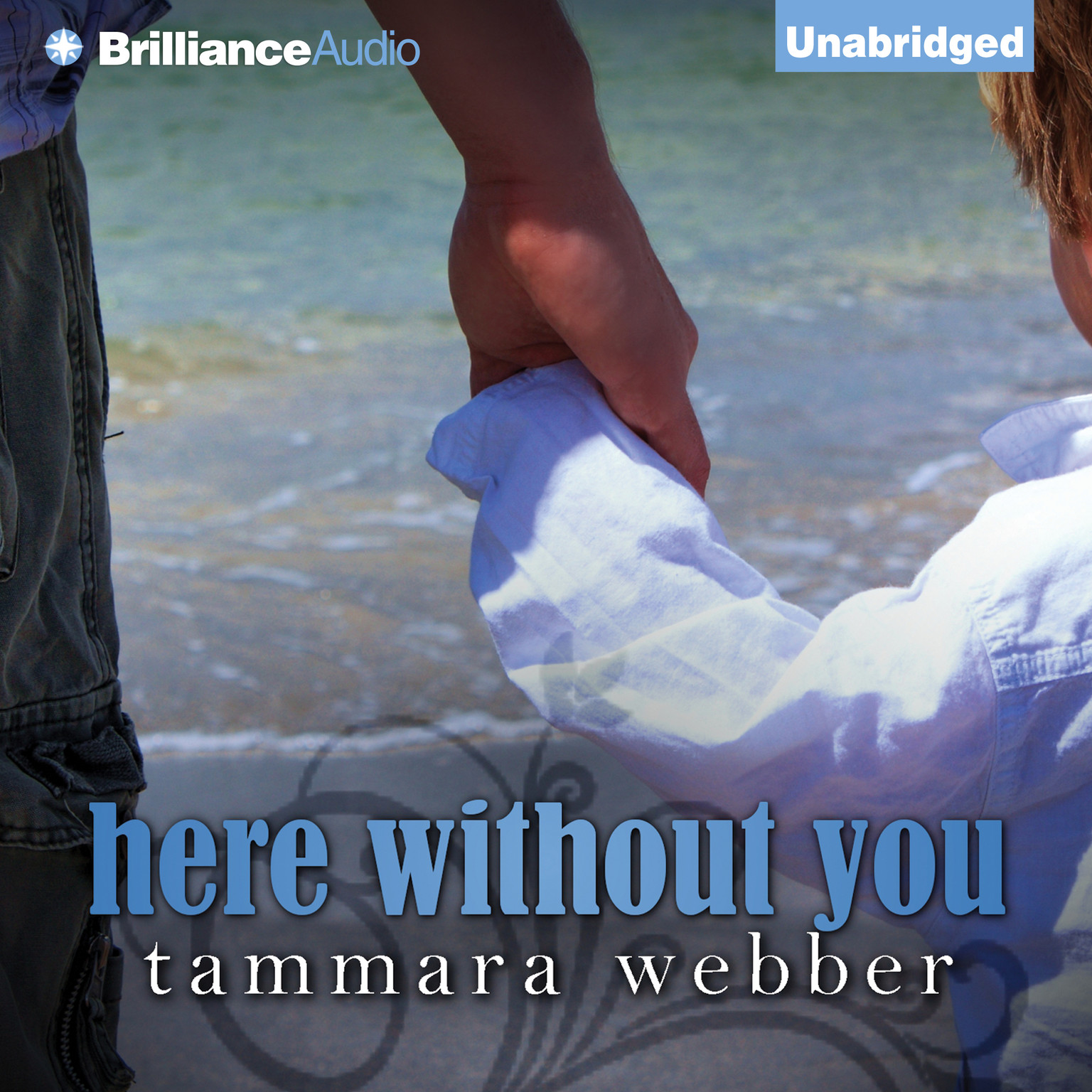 Printable Here Without You Audiobook Cover Art