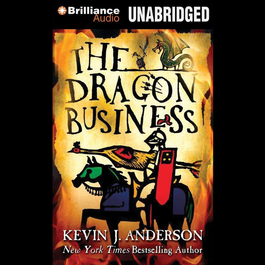 Printable The Dragon Business Audiobook Cover Art