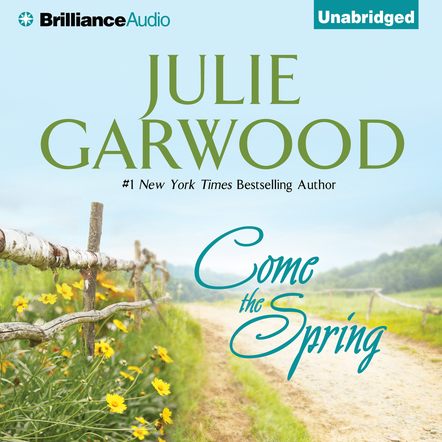 Printable Come the Spring Audiobook Cover Art
