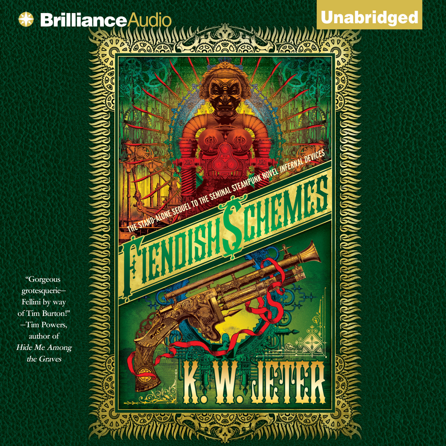 Printable Fiendish Schemes Audiobook Cover Art