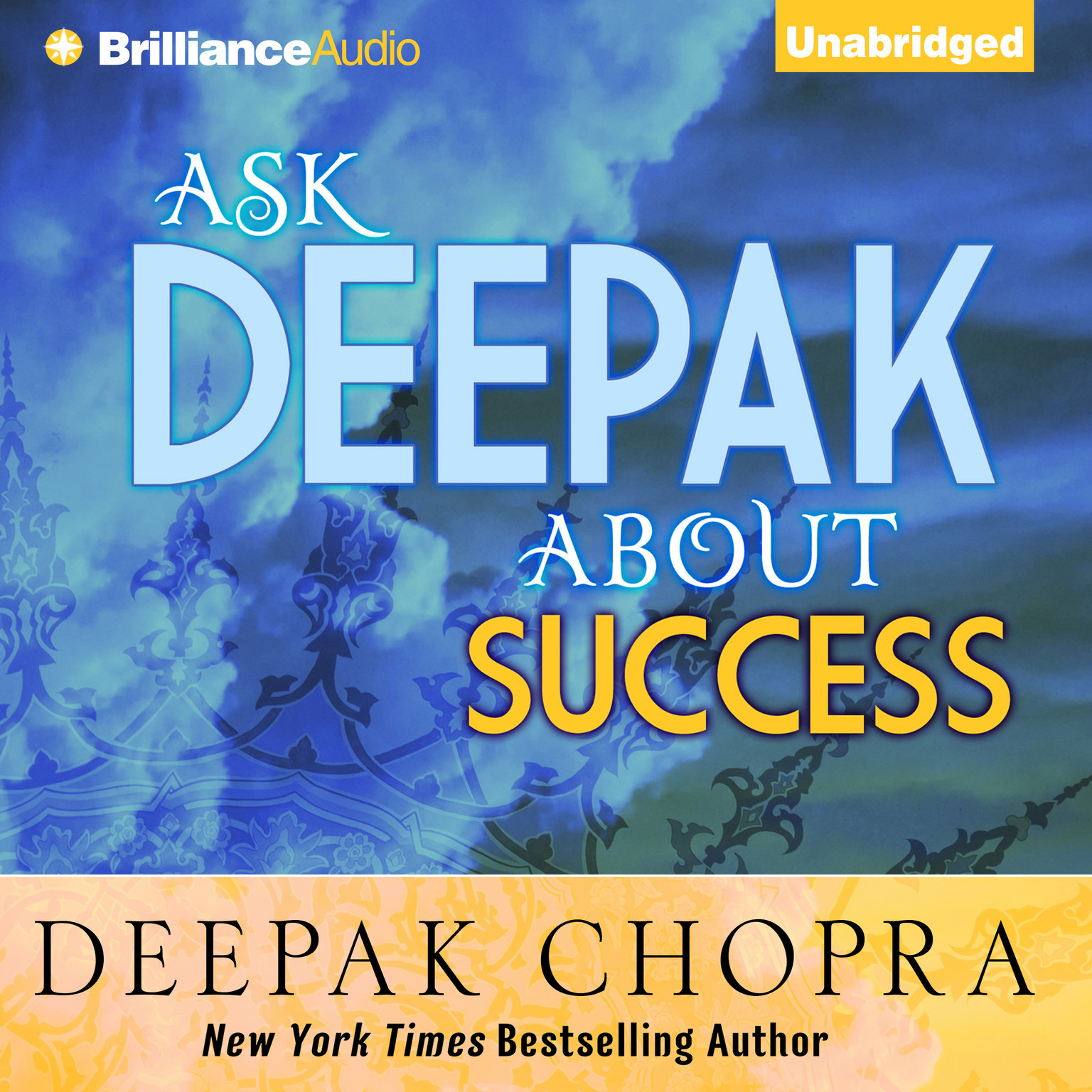 Printable Ask Deepak about Success Audiobook Cover Art