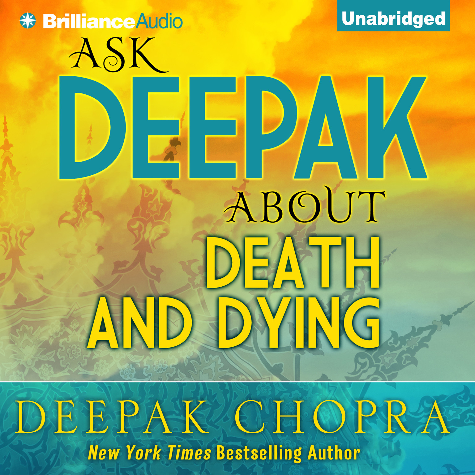 Printable Ask Deepak about Death and Dying Audiobook Cover Art