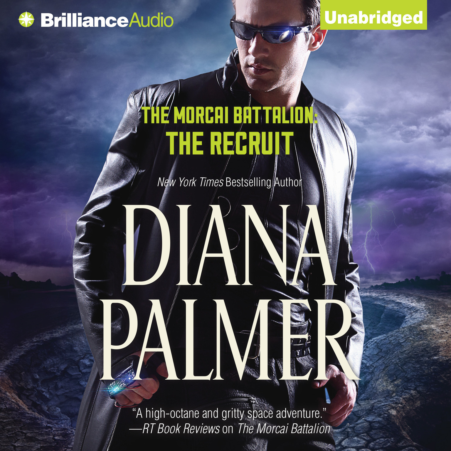Printable The Recruit Audiobook Cover Art