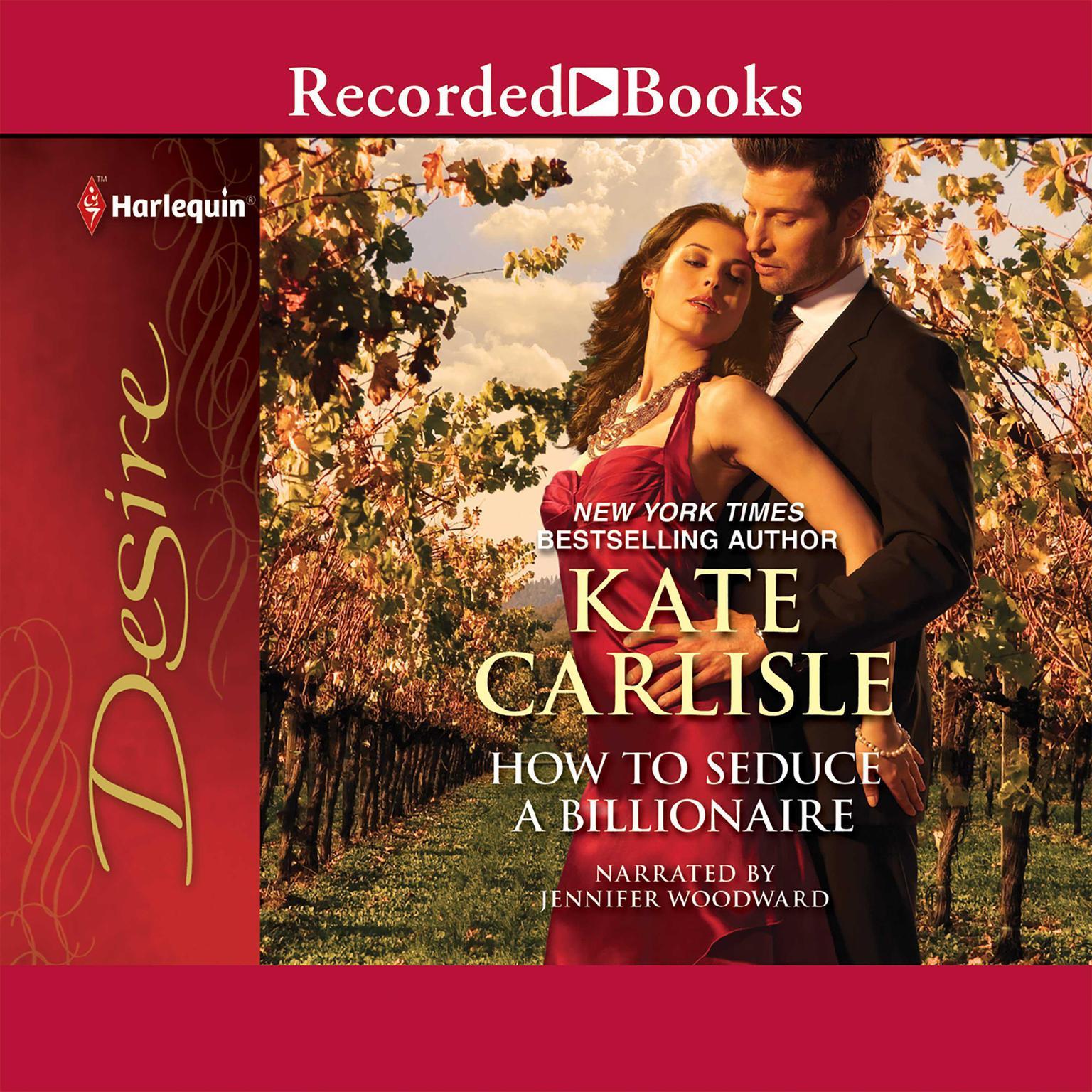 Printable How to Seduce a Billionaire Audiobook Cover Art