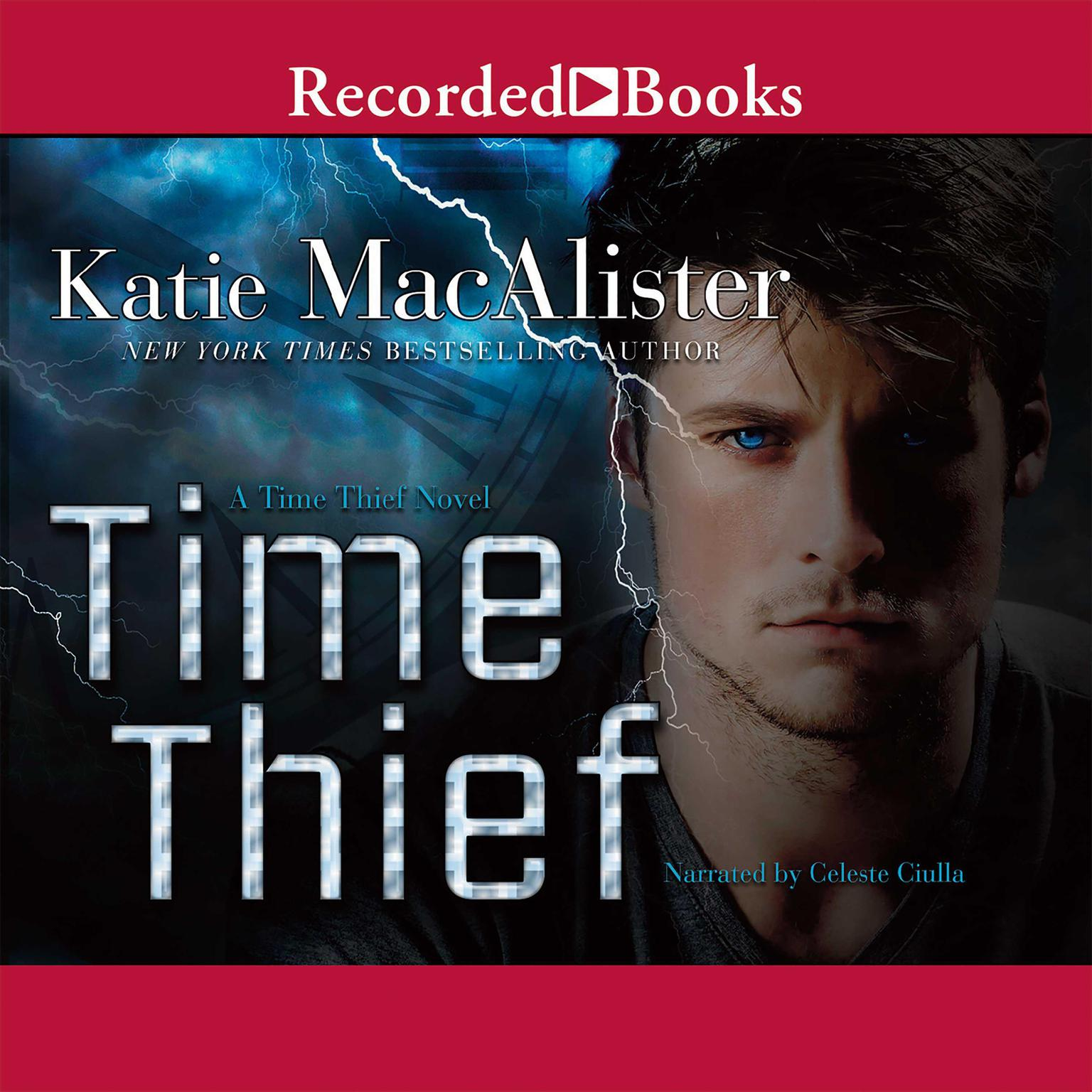 Printable Time Thief Audiobook Cover Art