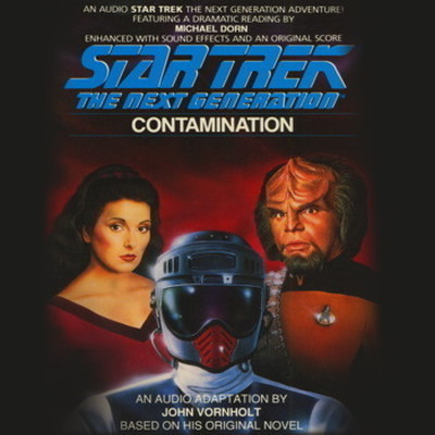 Printable Contamination Audiobook Cover Art