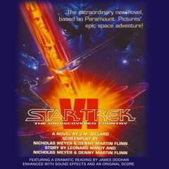 STAR TREK VI: THE UNDISCOVERED COUNTRY: The Undiscovered Country Audiobook, by J. M. Dillard