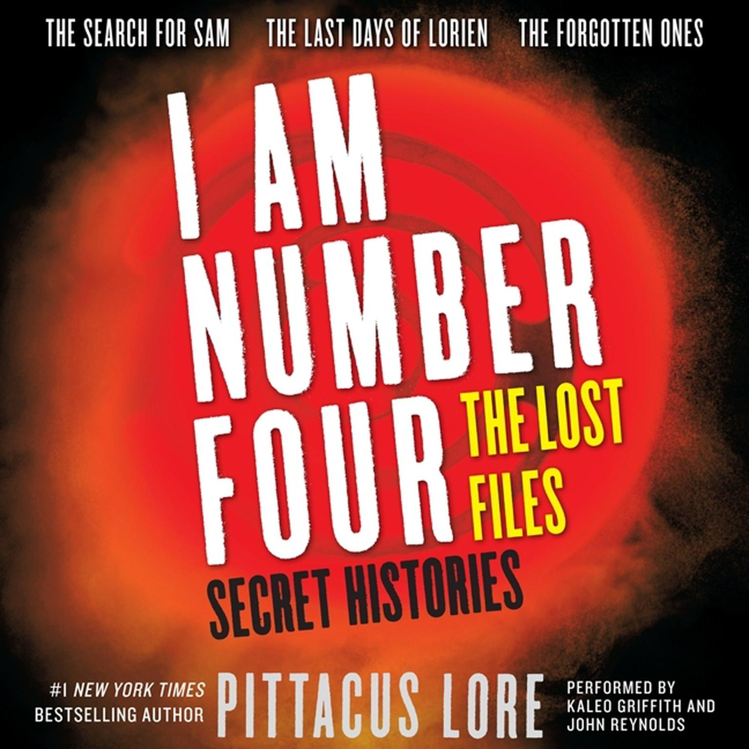 Printable I Am Number Four: The Lost Files: Secret Histories Audiobook Cover Art