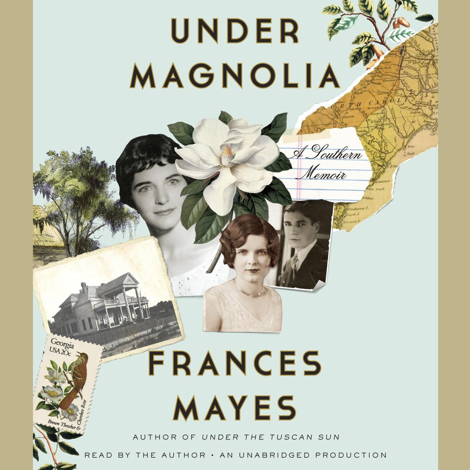 Printable Under Magnolia: A Southern Memoir Audiobook Cover Art