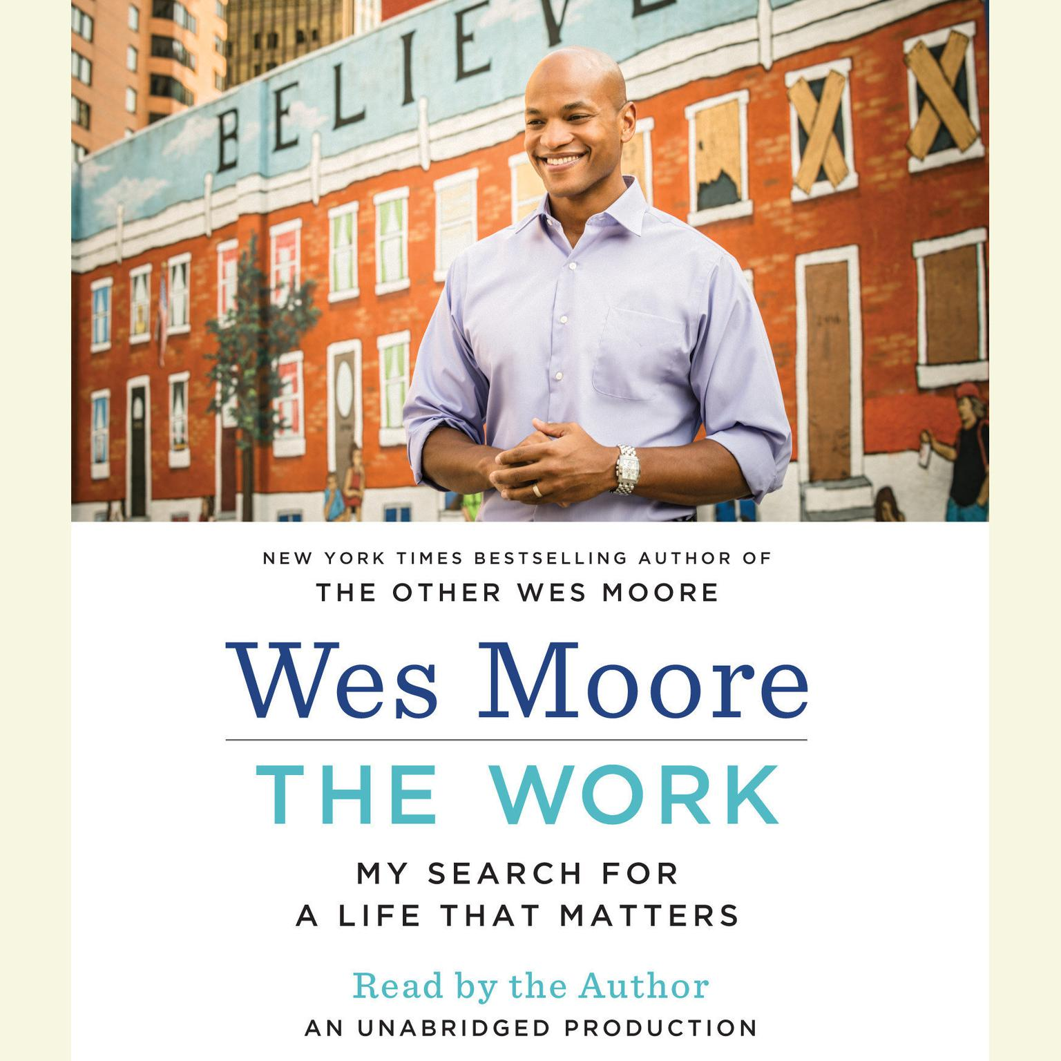 Printable The Work: My Search for a Life That Matters Audiobook Cover Art