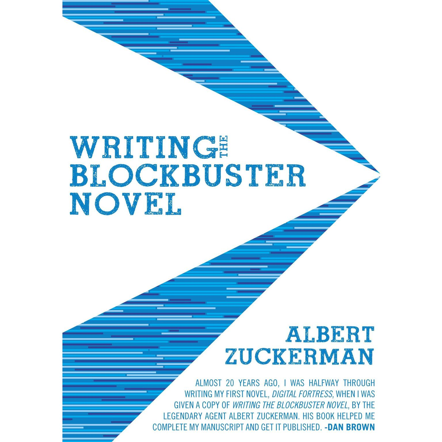 Printable Writing the Blockbuster Novel Audiobook Cover Art