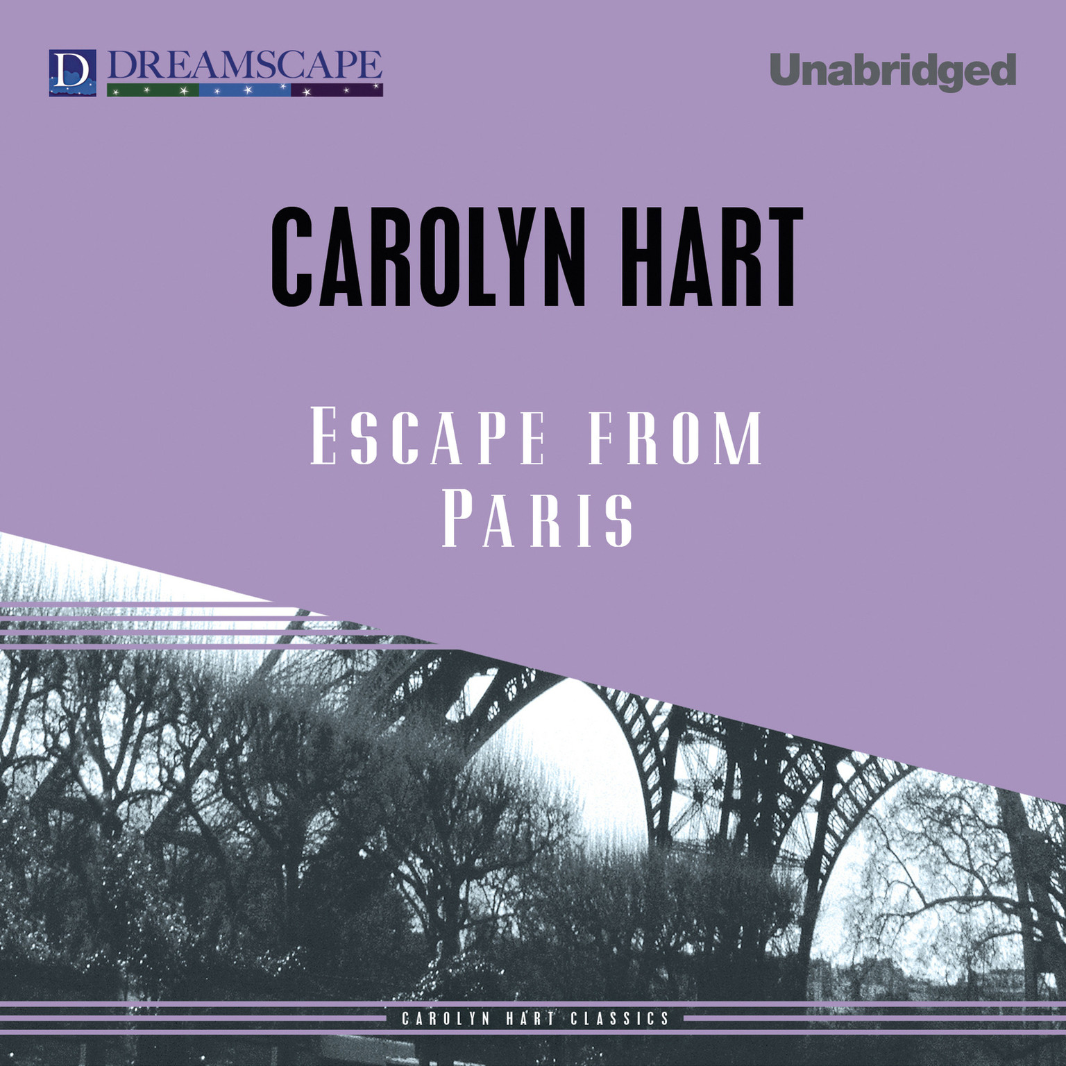 Printable Escape from Paris Audiobook Cover Art