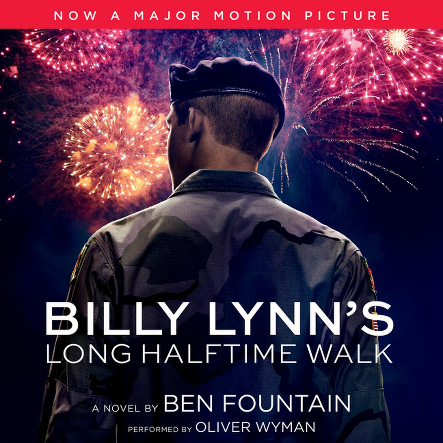 Printable Billy Lynn's Long Halftime Walk: A Novel Audiobook Cover Art