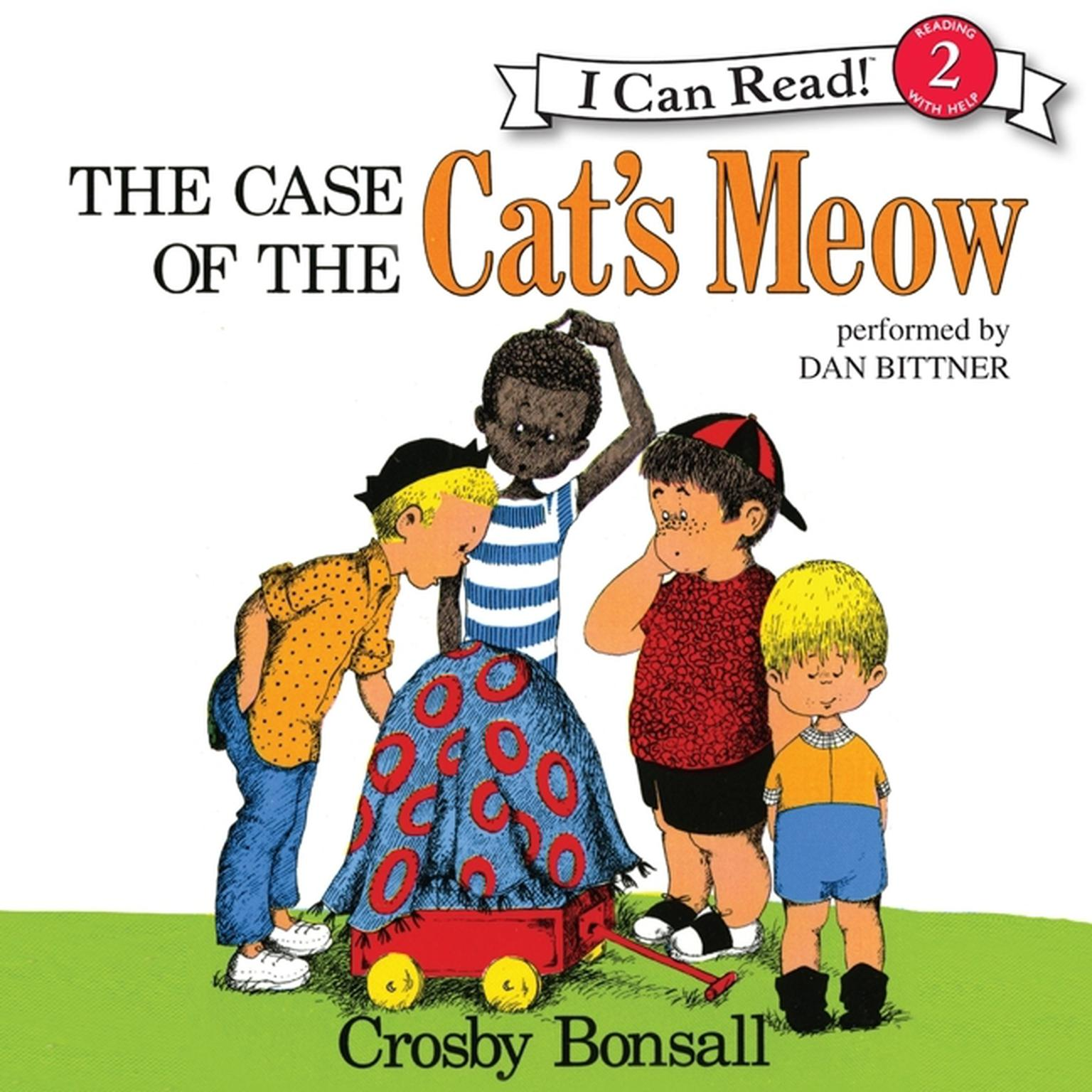 Printable The Case of the Cat's Meow Audiobook Cover Art
