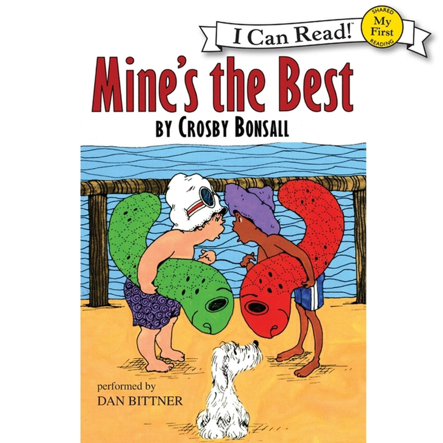 Printable Mine's the Best Audiobook Cover Art
