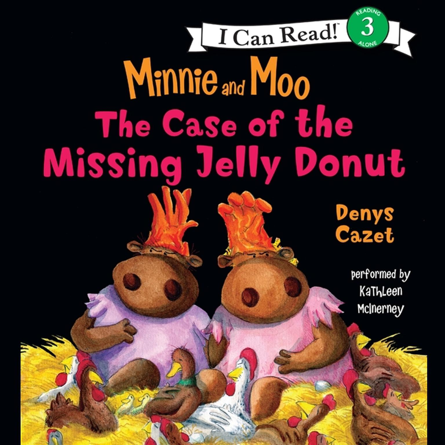 Printable Minnie and Moo: The Case of the Missing Jelly Donut Audiobook Cover Art