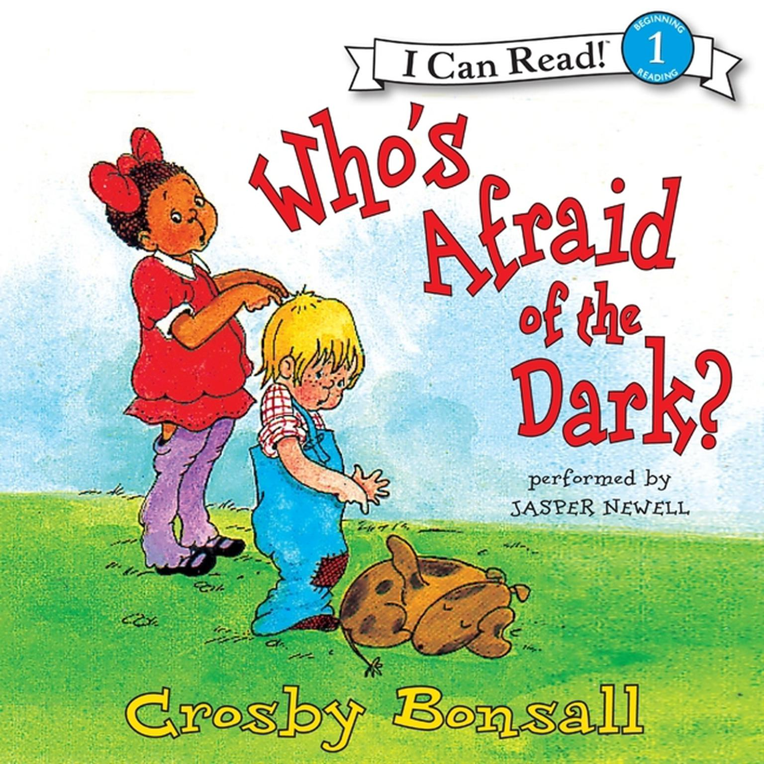 Printable Who's Afraid of the Dark? Audiobook Cover Art